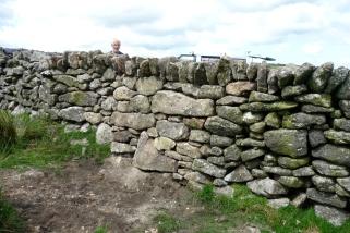 Dartmoor granite with overhanging coping