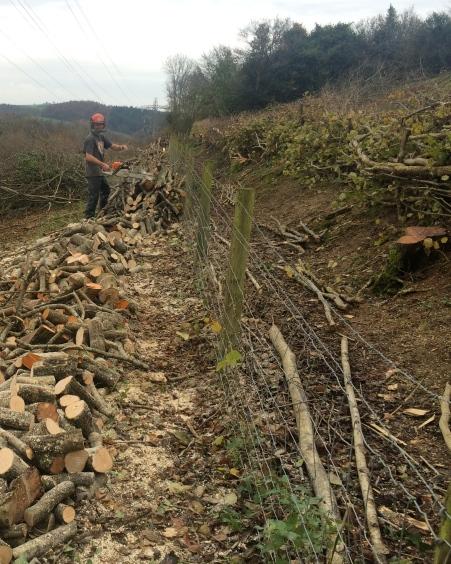 Logging up