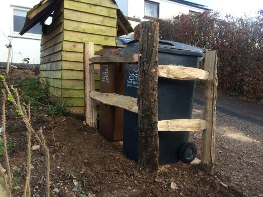 Chestnut fence