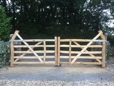 Pair of Devon gates
